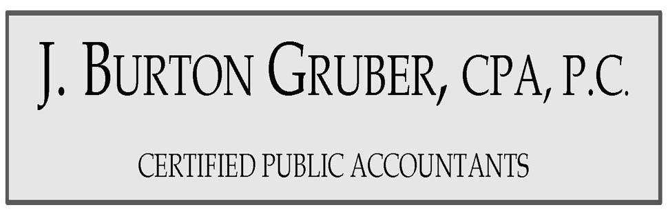 J  Burton Gruber, CPA, P C : A professional tax and